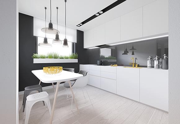 Kitchens & Living Room