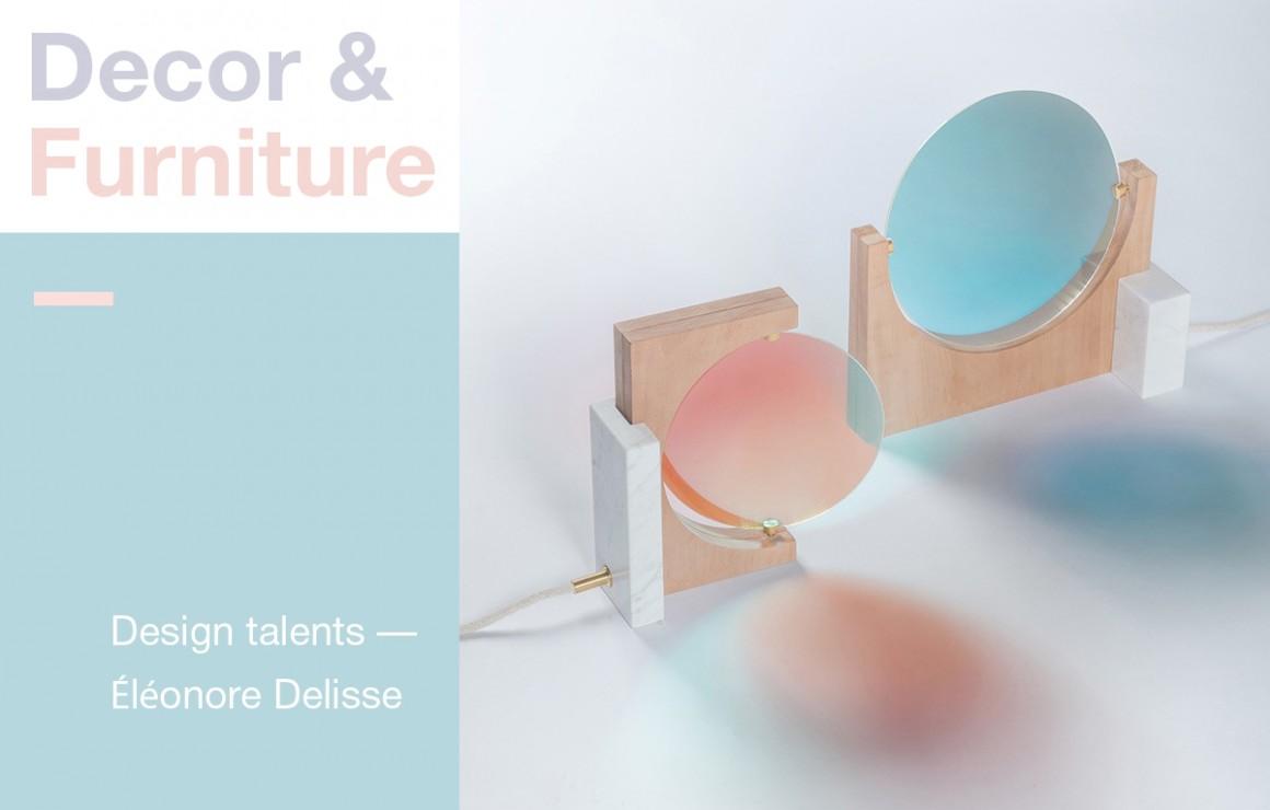Decor &  Furniture: Design talents – Éléonore Delisse