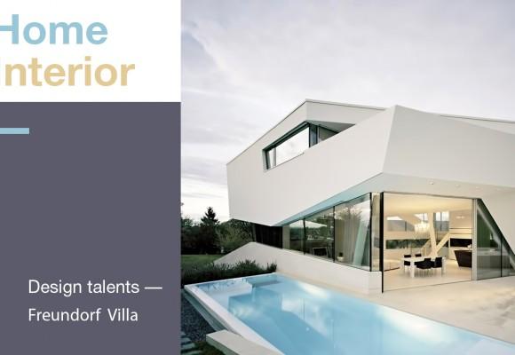 Home  Interior:  Design talents – Freundorf Villa